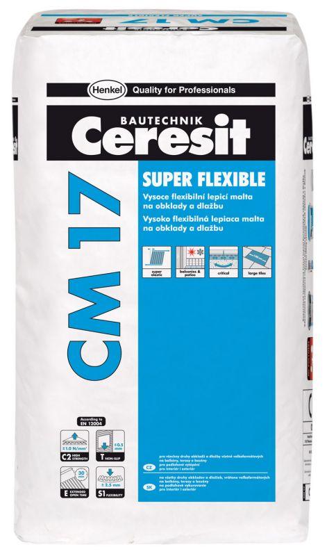 "Ceresit CM 17 Flexibilní lepicí malta ""SUPER FLEXIBLE"" 25kg"