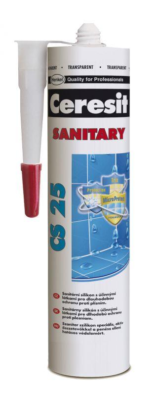 Silikon Ceresit CS 25 Sanitary - crocus