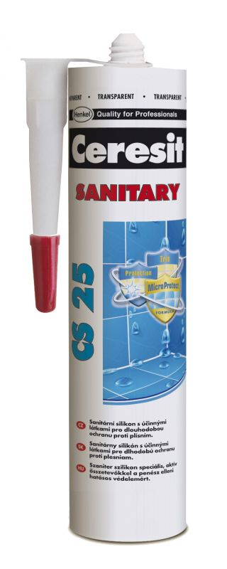 Silikon Ceresit CS 25 Sanitary - cream