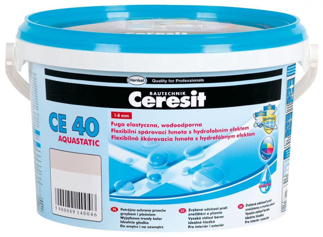 Ceresit CE 40 Aquastatic bílá 2kg