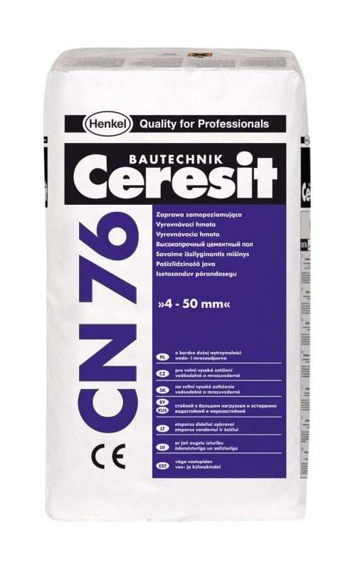 Ceresit CN 76 Samonivelační a vyrovnávací hmota 25kg