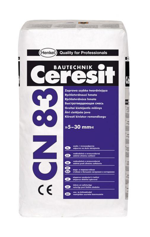 Ceresit CN 83 Rychletvrdnoucí hmota 25kg
