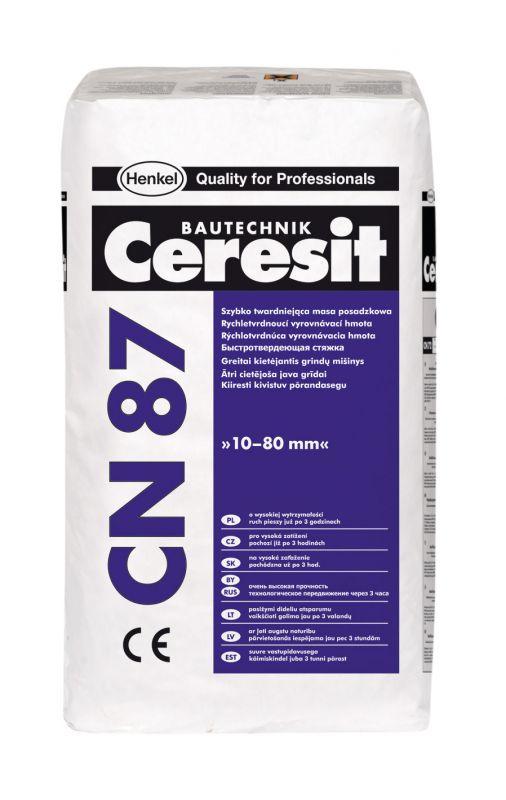 Ceresit CN 87 Rychletvrdnoucí vyrovnávací hmota 25kg