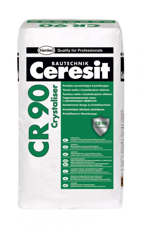 Ceresit CR 90 Crystaliser Těsnicí malta s krystalizujícím efektem 25kg