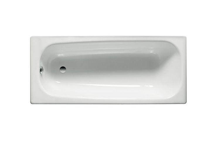 ROCA Contesa ocelová vana 160x70cm, bílá - A235960000