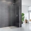Sprchová stěna WALK IN, Novea, 80 x 200 cm, chrom ALU, sklo Čiré Mereo