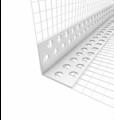 Rohový plastový profil s tkaninou, LKS PVC