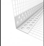 Rohový plastový profil s tkaninou, LKS PVC Styrotrade