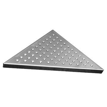 Rošt Square pro odtokový žlab Triangel, 21x21 cm, nerez Mereo