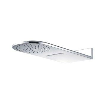 Talířová sprcha horní, s vodopádem, půlkulatá 600 x 251 mm, nerez CB496 Mereo