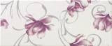 LUCY White DC Flower dekor 25x60