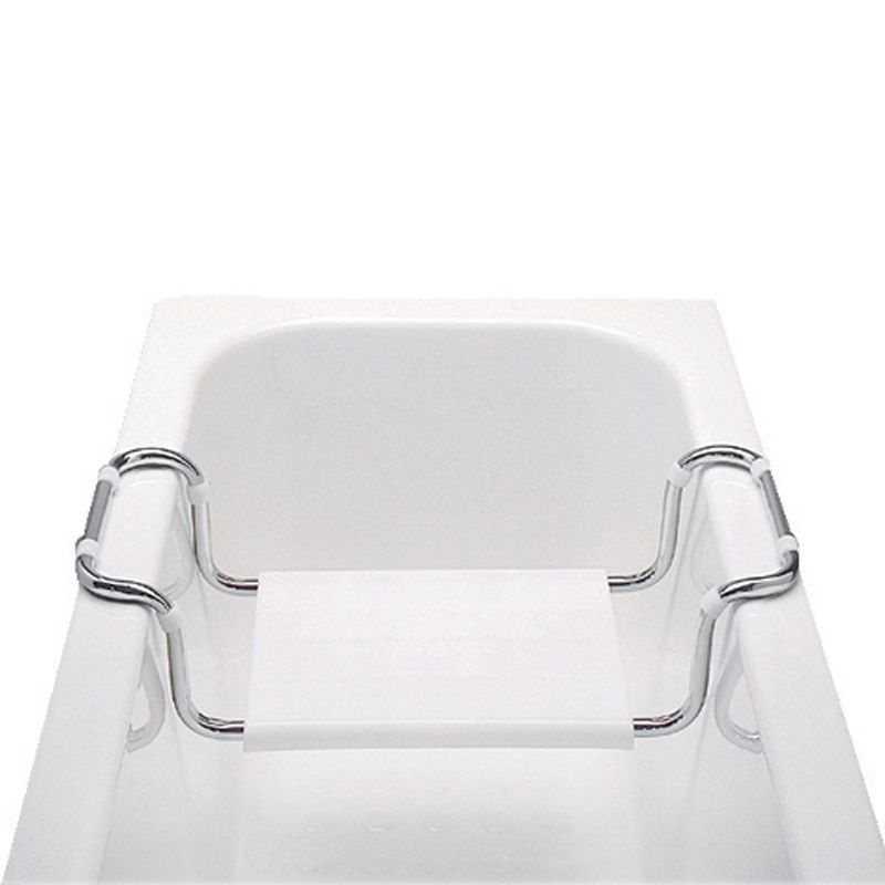 Sedátko vanové, stavitelné, nosnost 90 kg, chrom/polypropylen Mereo