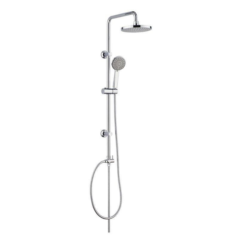 Sprchová souprava Sonáta - plastová hlavová sprcha a třípolohová ruční sprcha Mereo
