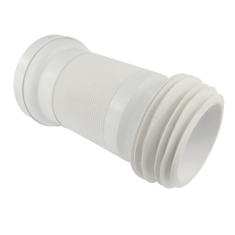 WC napojení, ø 110 mm, flexi s drátem, vestavná délka 150 - 500 mm Klum